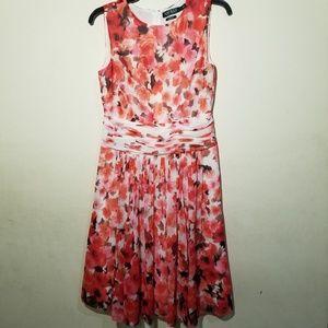 Lauren Ralph Lauren Dress Size 8  Floral Print